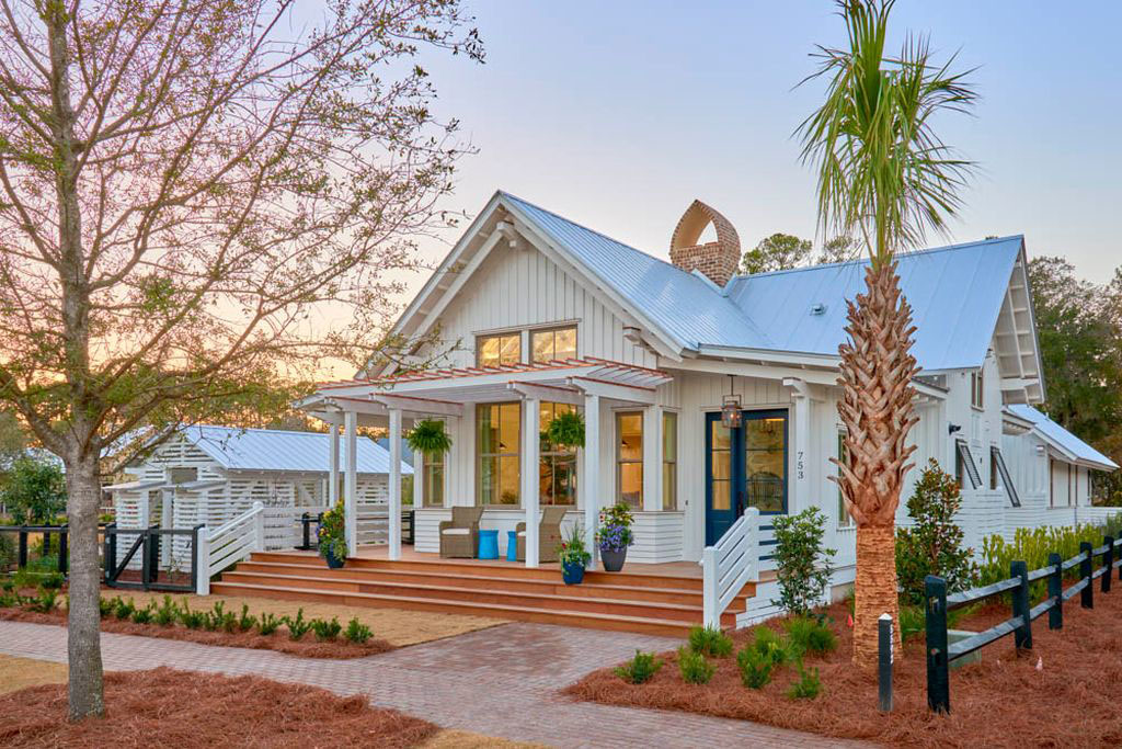 Charming Lowcountry Village Cottage Surrounded By Lush