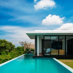 Swimming Pool Floating Chairs Queen Ann Chair Modern Resort Villa With Balinese Theme | Idesignarch Interior Design, Architecture & ...