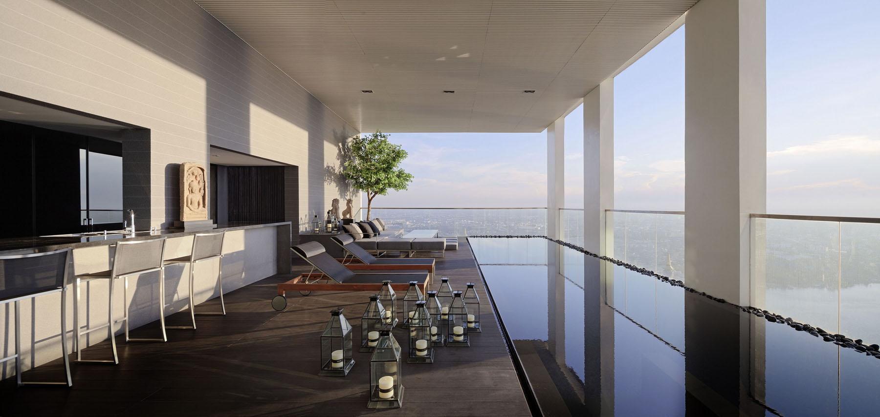 The PANO Triplex Penthouse A Unique Private House In The Sky  iDesignArch  Interior Design