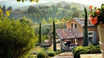 Country Italian Villa Architecture