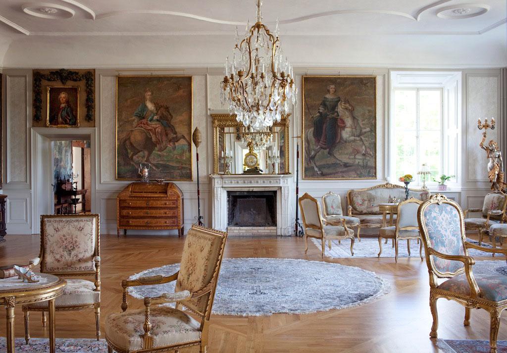 Stunning Baroque Castle Mansion In Sweden IDesignArch