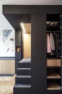 Refurbished Paris Studio Apartment Integrates Storage and ...