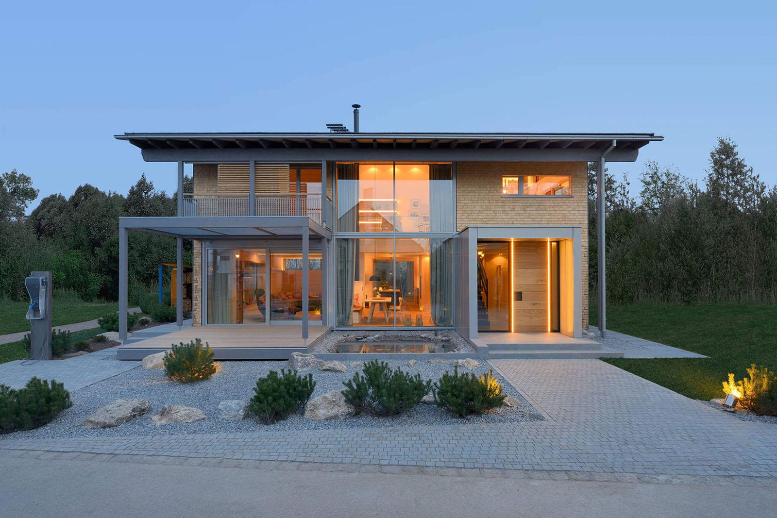 Bauhaus Inspired Energy Saving House With Modern Alpine Charm