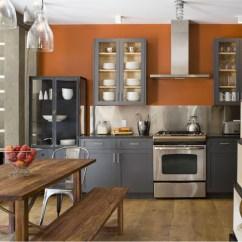 Stainless Steel Restaurant Kitchen Cabinets Hoods Contemporary Alpine Decor By Alexandra Champalimaud ...