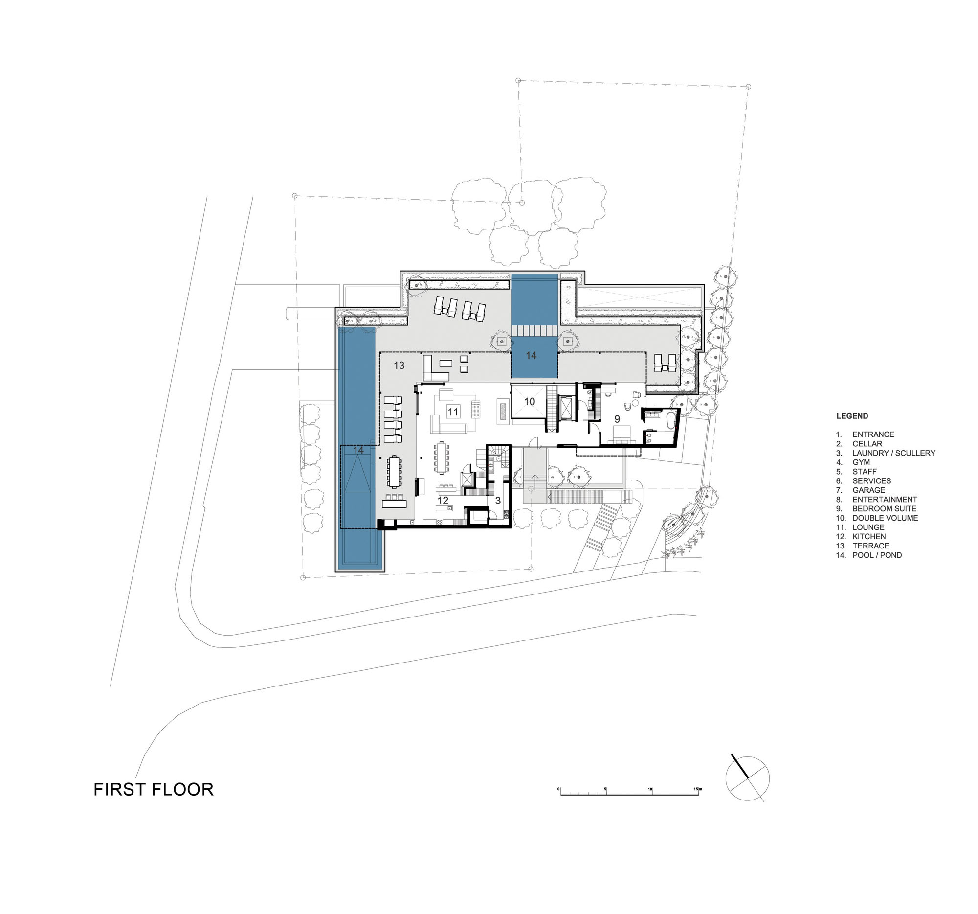 Contemporary Beachfront Home In South Africa  iDesignArch  Interior Design Architecture