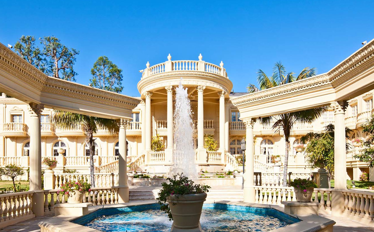 Stunning French Chateau In Bel Air IDesignArch