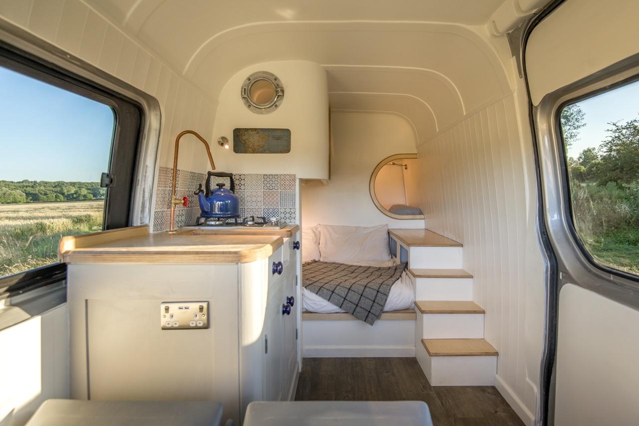 Custom Luxury Van Conversion Mobile Home  iDesignArch  Interior Design Architecture