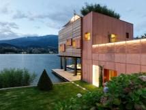 Lakeside Boathouse In Austria Idesignarch Interior