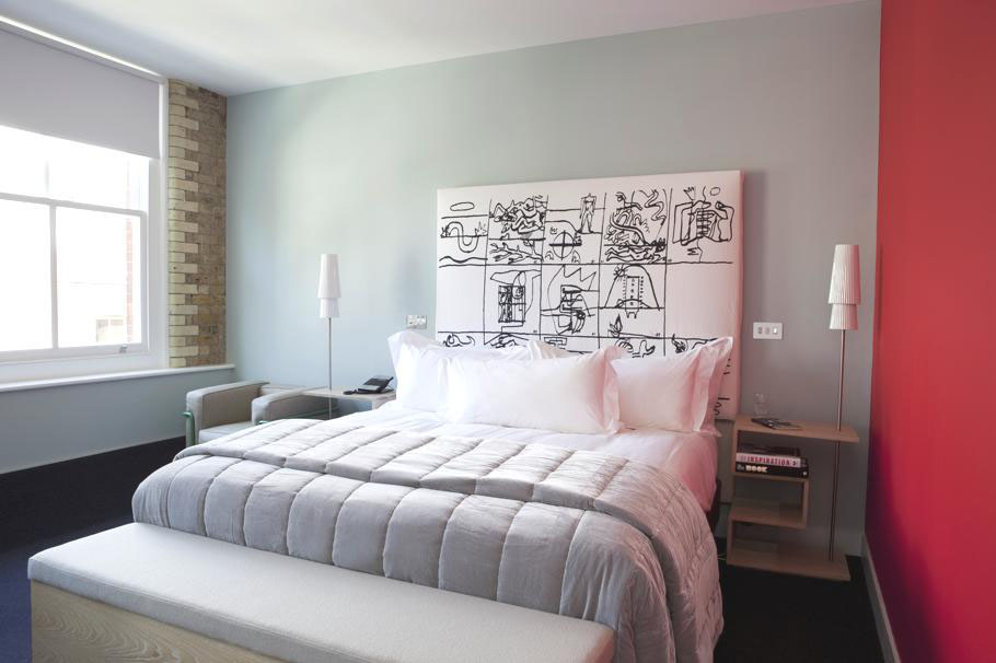Boundary Hotel London  Converted Victorian Warehouse With A Modern Twist  iDesignArch