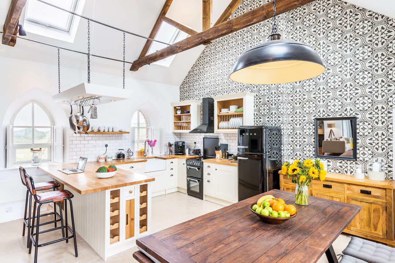 Small Chapel Converted Into Charming Modern Holiday Cottage  iDesignArch  Interior Design