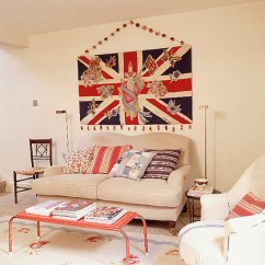 Beach Themed Living Rooms Ideas Small Room With Electric Fireplace Celebrate The Royal Wedding British Interior Decor ...
