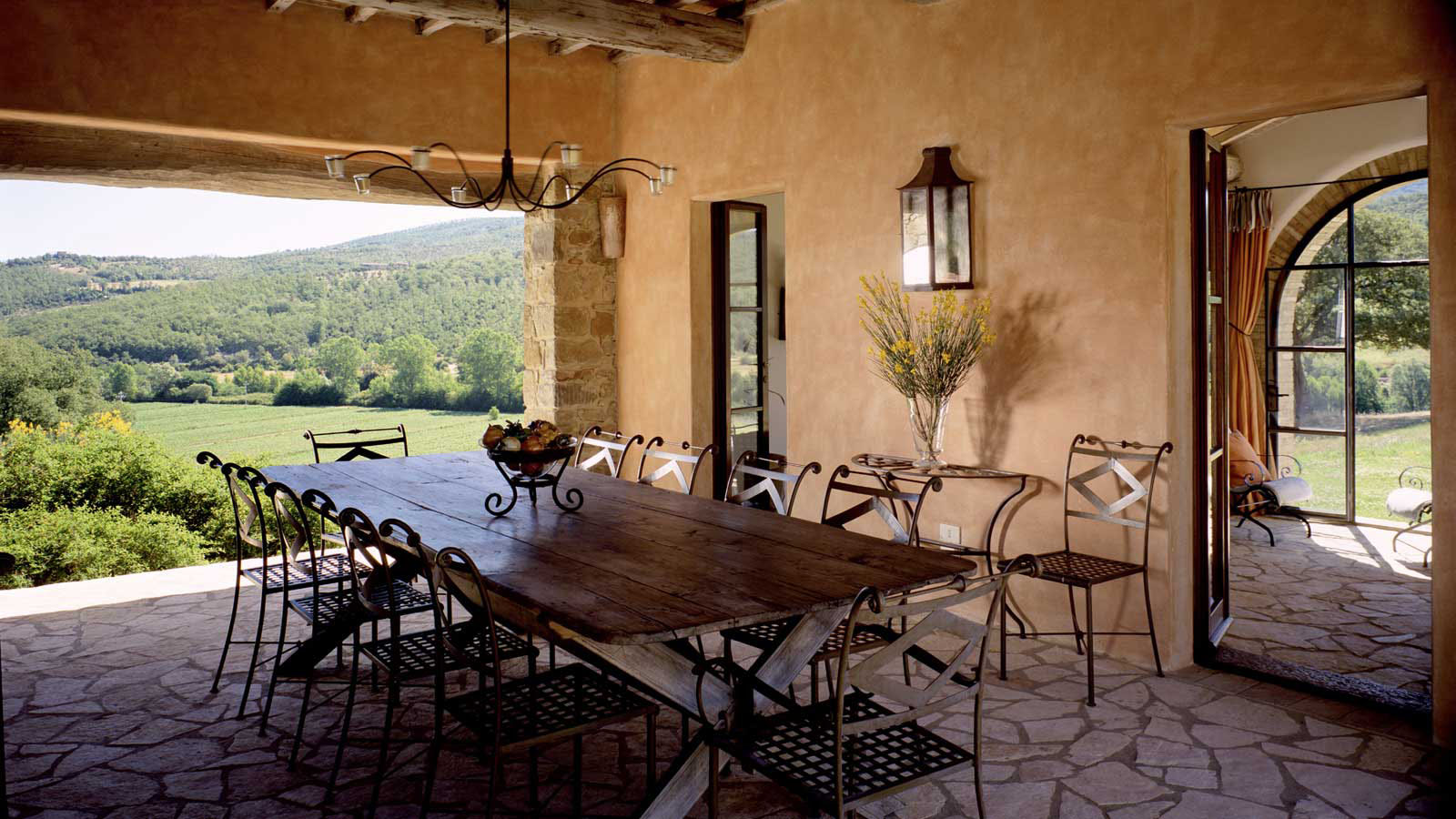 restaurant kitchen flooring commercial sinks brusceto-castello-di-reschio