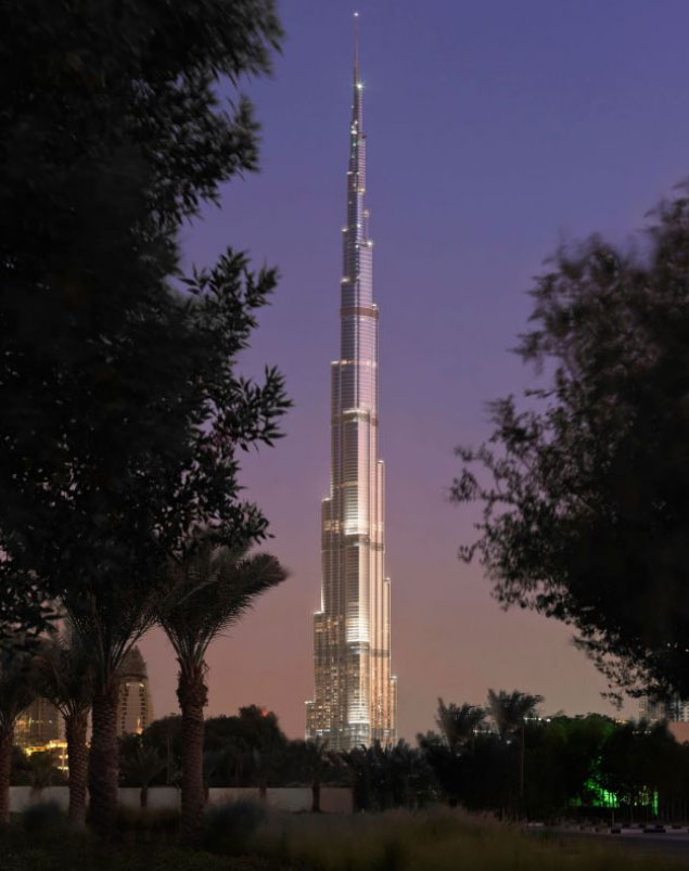decorating kitchen cabinets hutch ideas burj khalifa: the tallest building in world ...