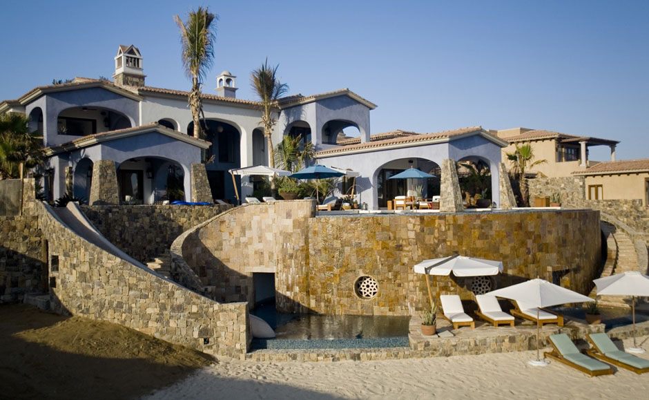 Beachfront Home In Cabo San Lucas With Turkish Bath Grotto