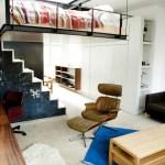 Modern Bohemian Studio Flat With Suspended Bed Idesignarch Interior Design Architecture Interior Decorating Emagazine
