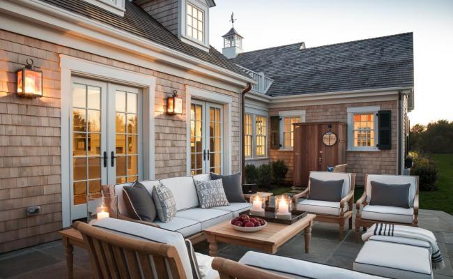 Dream House With Cape Cod Architecture And Bright Coastal