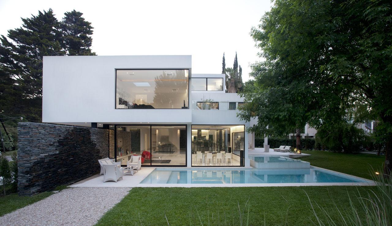 Carrara Marble House In Argentina IDesignArch Interior Design