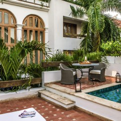 Prefab Outdoor Kitchens Kitchen Sink 33x22 Hotel Casa San Agustin Blends Contemporary Luxury And ...
