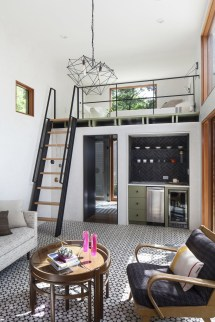 Double Loft Tiny House Interior