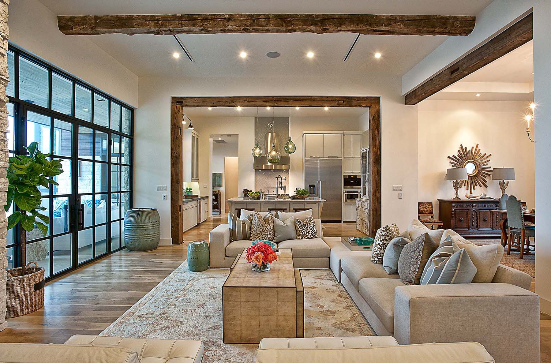 A Contemporary Home With Rustic Elements Connects To Its Environment   iDesignArch   Interior ...