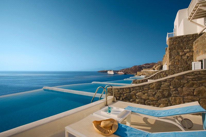 Cavo Tagoo Hotel Mykonos  A Minimalist Cliffside Paradise  iDesignArch  Interior Design