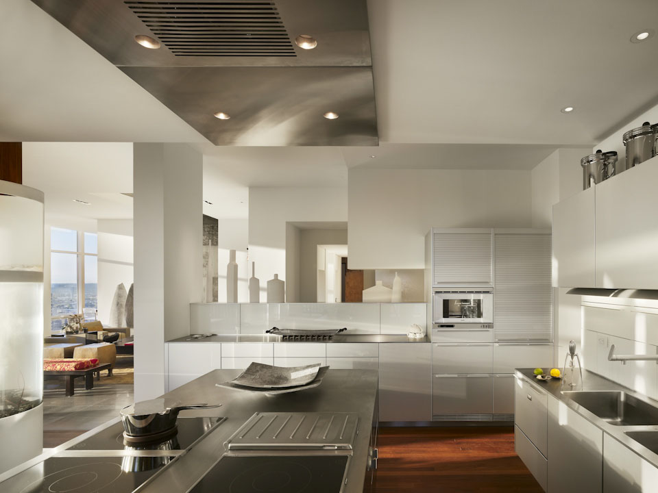 modern outdoor kitchen microfiber towels stunning penthouse apartment in philadelphia ...