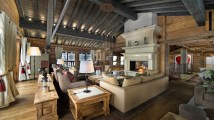 Rustic Mountain Home Chalet Interiors