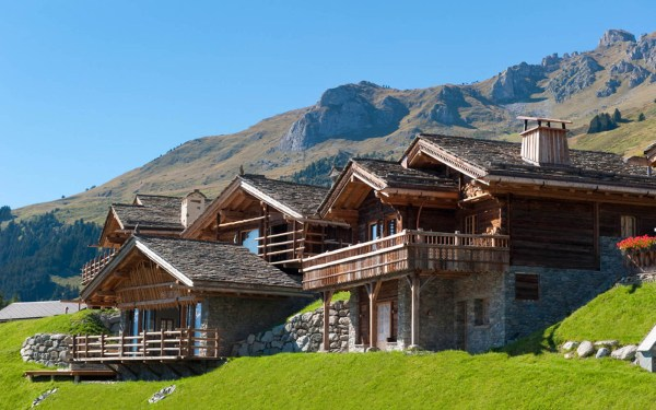 Swiss Chalets in Switzerland