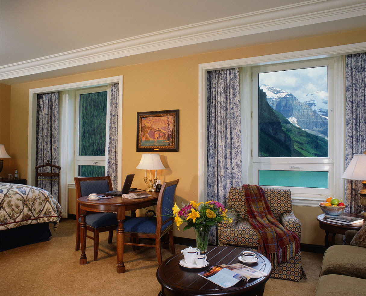 Mountain Paradise At Chateau Lake Louise  iDesignArch  Interior Design Architecture