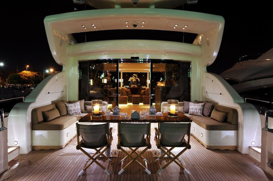 Stylish Luxury Yacht Cheeky Tiger IDesignArch
