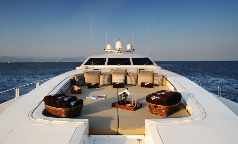 Stylish Luxury Yacht Cheeky Tiger  iDesignArch  Interior Design Architecture  Interior