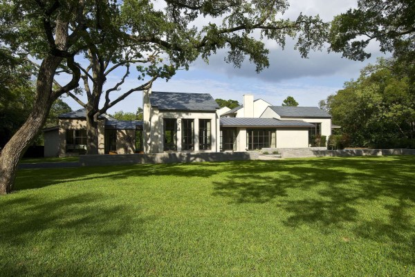 Transitional Style Modernist Home In Dallas Idesignarch