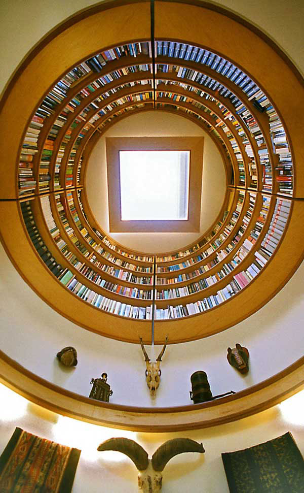 Circular Library Bookcase  iDesignArch  Interior Design Architecture  Interior Decorating