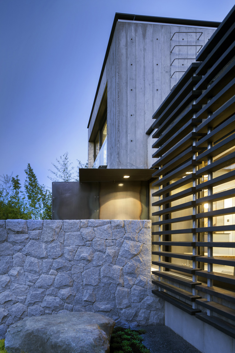 Secluded Urban Residence In Vancouver With A Laneway House  iDesignArch  Interior Design