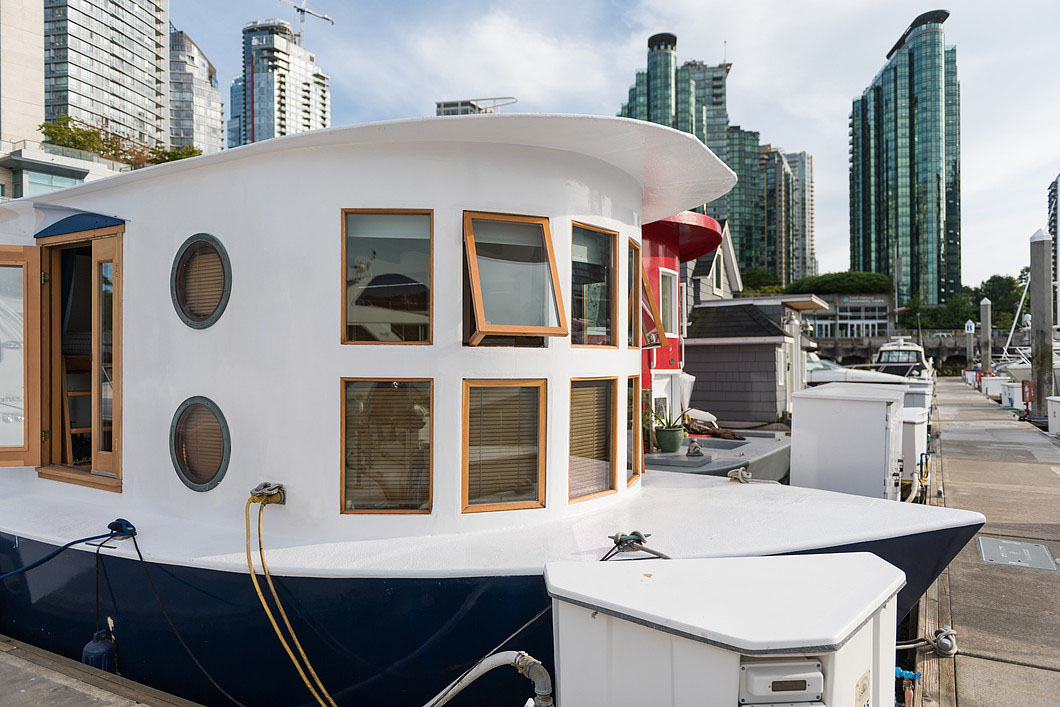 marine kitchen cabinets virtual cute houseboat provides affordable living with a unique ...