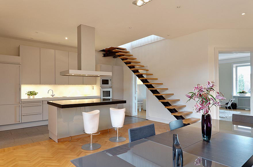 Charming Contemporary Attic Apartment Idesignarch