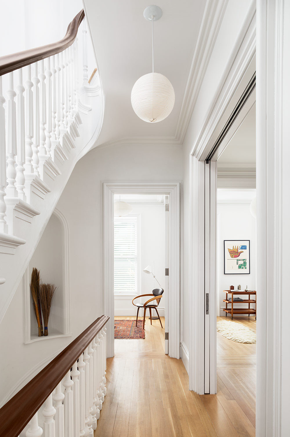 Restored Brooklyn Brownstone House With Fresh Contemporary