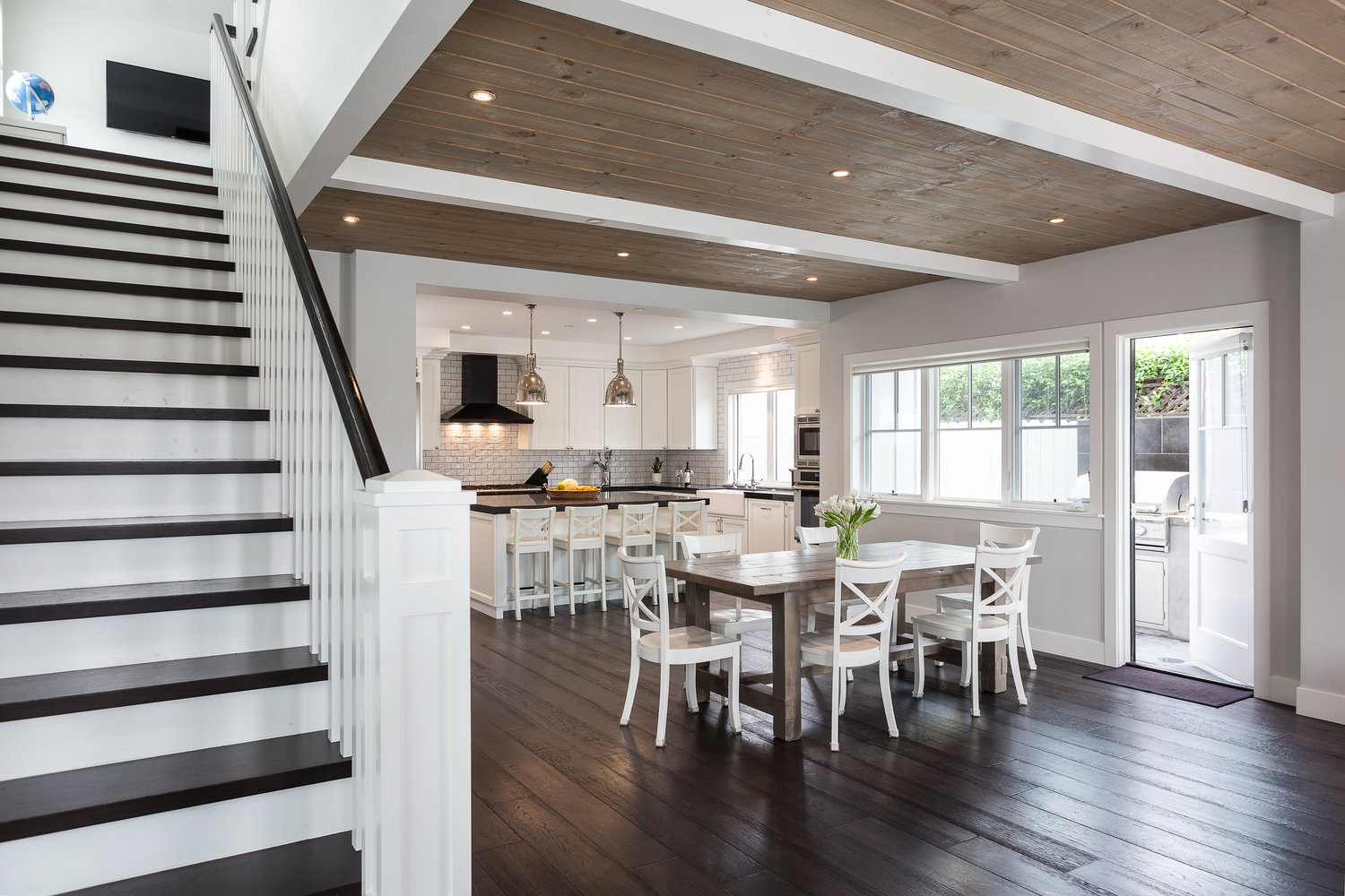 paint ideas for living room feature wall layout with corner fireplace contemporary-craftsman-home-newport-beach-california_3