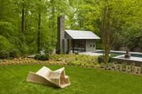 Contemporary Garden Pavilion Pool House | iDesignArch ...