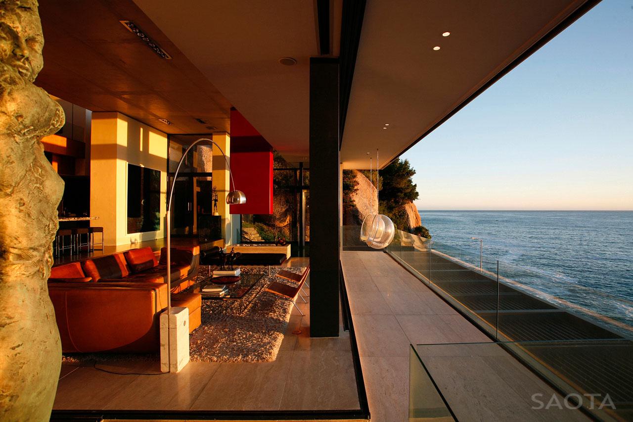 Contemporary Seaside Villa In Cape Town Idesignarch