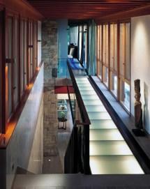 Interior House Design with Bridge