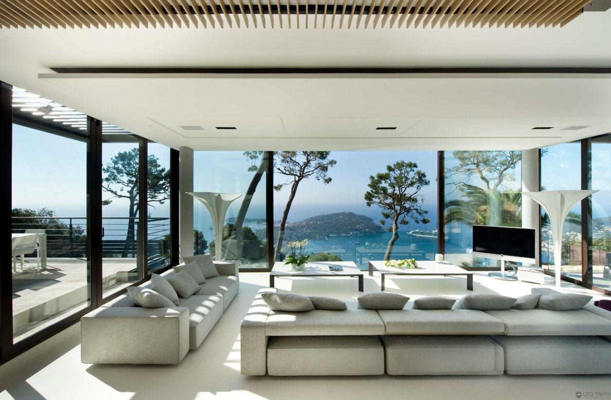 Monaco Salon De Jardin Aspect Rotin Tresse