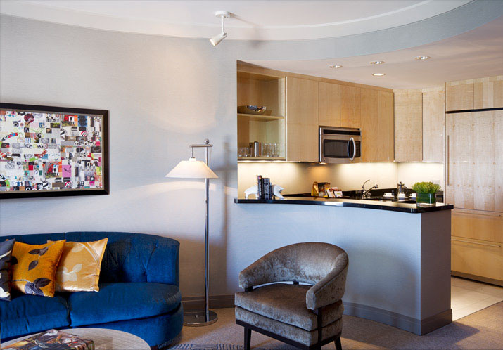 curtains kitchen cabinets riverside ca swanky hotel interior design: the cosmopolitan of las ...