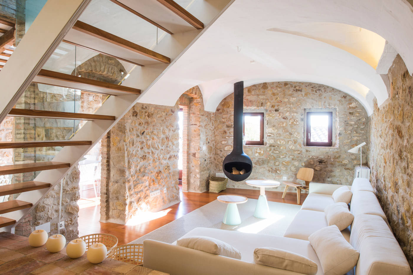 A 19th Century Stone House On The Costa Brava Transformed