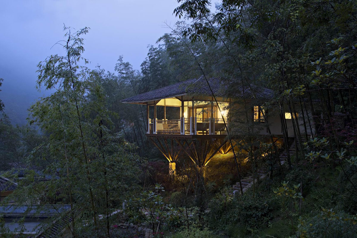 Huizhou Nankunshan Crosswaters Ecolodge  Spa Bamboo Villa