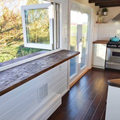 Tiny House Kitchens Standard Size Kitchen Sink Custom Mobile With Large And Two Lofts Spacious Bathroom