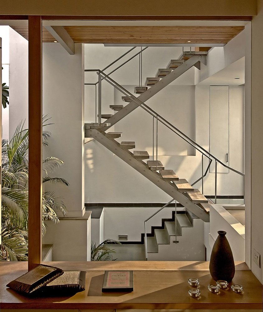 Modernist House In India A Fusion Of Traditional And | Interior Staircase Designs For Indian Homes