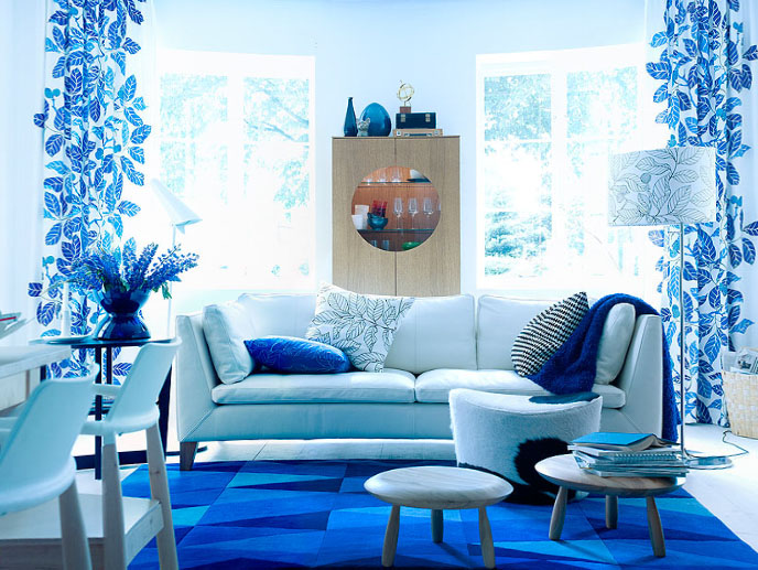 blue living room furniture decorating ideas how do i design my for rooms from ikea | idesignarch ...