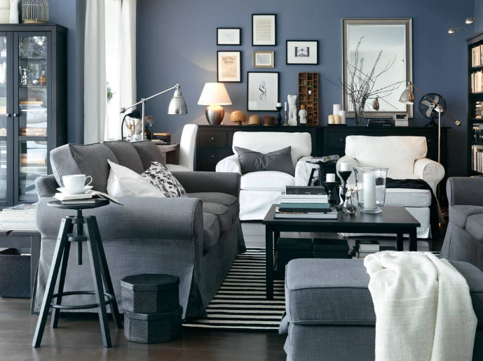 Decorating Ideas For Living Rooms From IKEA  iDesignArch  Interior Design Architecture