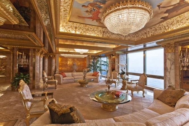 Inside Donald And Melania Trump S Manhattan Apartment Mansion
